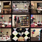 Retro party - web