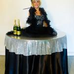 SHOW TABLE HOLLYWOOD STAR