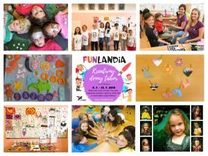 FUNLANDIA kreatívny tábor white